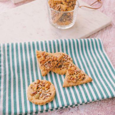 biscotti sablée alle noci e semini