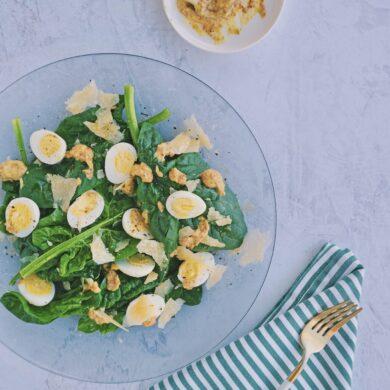 spinaci uova quaglia senape antica gran campidano