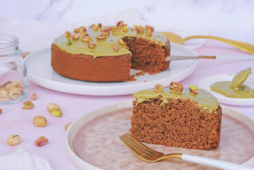 torta fondente pistacchio