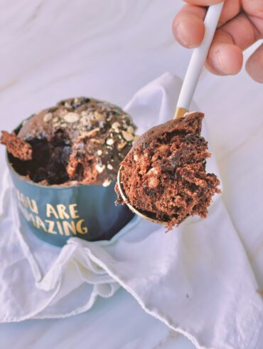 Mug Cake cioccolato e nocciole
