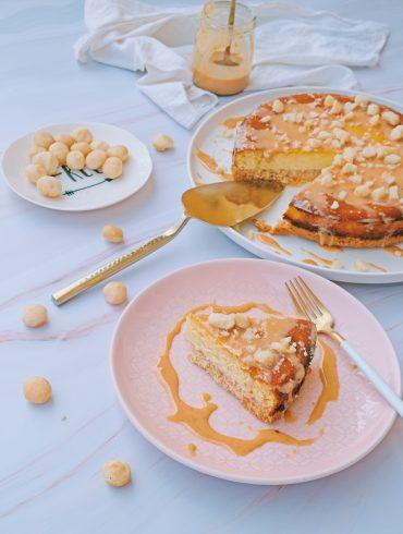 cheesecake noci di macadamia